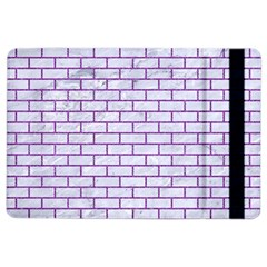 Brick1 White Marble & Purple Denim (r) Ipad Air 2 Flip