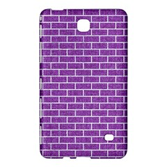 Brick1 White Marble & Purple Denim Samsung Galaxy Tab 4 (8 ) Hardshell Case  by trendistuff