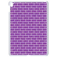 Brick1 White Marble & Purple Denim Apple Ipad Pro 9 7   White Seamless Case by trendistuff