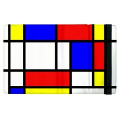 Piet Mondrian Mondriaan Style Apple Ipad Pro 9 7   Flip Case by yoursparklingshop