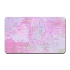 Soft Pink Watercolor Art Magnet (rectangular) by yoursparklingshop