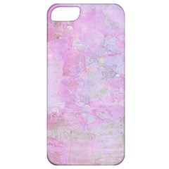 Soft Pink Watercolor Art Apple Iphone 5 Classic Hardshell Case by yoursparklingshop