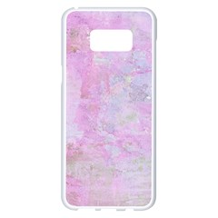 Soft Pink Watercolor Art Samsung Galaxy S8 Plus White Seamless Case by yoursparklingshop