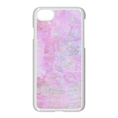 Soft Pink Watercolor Art Apple Iphone 8 Seamless Case (white) by yoursparklingshop