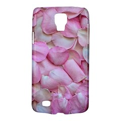 Romantic Pink Rose Petals Floral  Galaxy S4 Active by yoursparklingshop