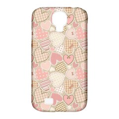 Cute Romantic Hearts Pattern Samsung Galaxy S4 Classic Hardshell Case (pc+silicone) by yoursparklingshop