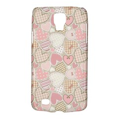 Cute Romantic Hearts Pattern Galaxy S4 Active by yoursparklingshop