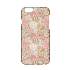 Cute Romantic Hearts Pattern Apple Iphone 6/6s Hardshell Case by yoursparklingshop
