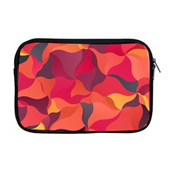 Red Orange Yellow Pink Art Apple Macbook Pro 17  Zipper Case