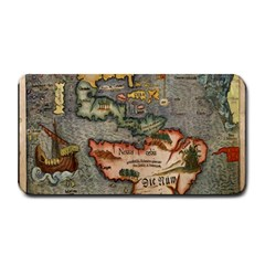 Vintage Map Medium Bar Mats