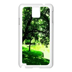 Lake Park 17 Samsung Galaxy Note 3 N9005 Case (white)