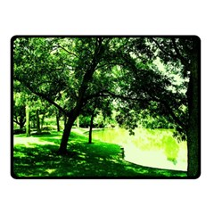 Lake Park 17 Double Sided Fleece Blanket (small)