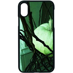 Pumpkin 7 Apple Iphone X Seamless Case (black)
