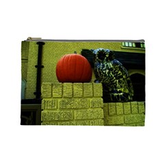 Pumpkins 10 Cosmetic Bag (large)  by bestdesignintheworld