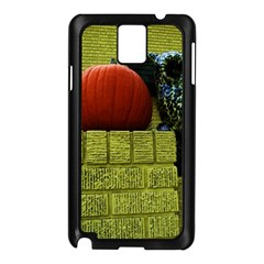 Pumpkins 10 Samsung Galaxy Note 3 N9005 Case (black) by bestdesignintheworld