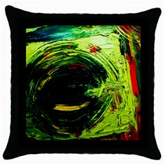 Abandoned Mine 3 Throw Pillow Case (black)