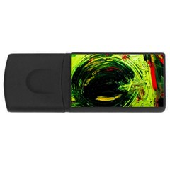 Abandoned Mine 3 Rectangular Usb Flash Drive