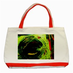 Abandoned Mine 3 Classic Tote Bag (red)