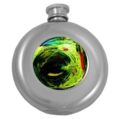 Abandoned Mine 3 Round Hip Flask (5 Oz)
