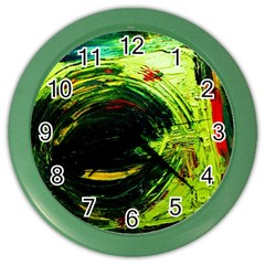 Abandoned Mine 3 Color Wall Clocks
