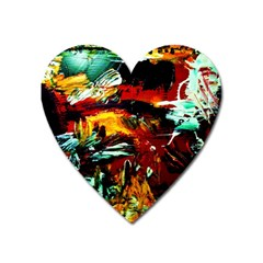 Grand Canyon Sunset Heart Magnet by bestdesignintheworld