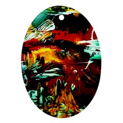 Grand Canyon Sunset Oval Ornament (two Sides)