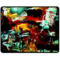 Grand Canyon Sunset Fleece Blanket (medium)