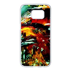 Grand Canyon Sunset Samsung Galaxy S7 Edge White Seamless Case