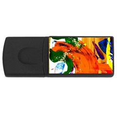 In Mediterrainean Rectangular Usb Flash Drive