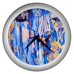 1 Wall Clocks (silver)  by bestdesignintheworld