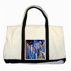 1 Two Tone Tote Bag by bestdesignintheworld