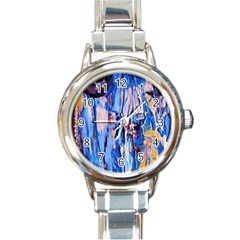 Point Of View 3/1 Round Italian Charm Watch by bestdesignintheworld