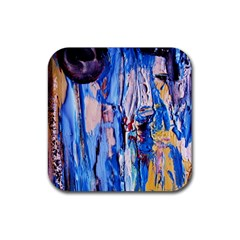 Point Of View 3/1 Rubber Square Coaster (4 Pack)  by bestdesignintheworld