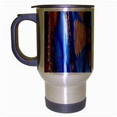 Point Of View 3/1 Travel Mug (silver Gray) by bestdesignintheworld