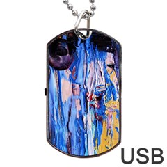 Point Of View 3/1 Dog Tag Usb Flash (two Sides) by bestdesignintheworld