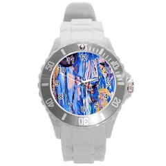 Point Of View 3/1 Round Plastic Sport Watch (l) by bestdesignintheworld