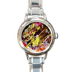 Absurd Theater In And Out 12 Round Italian Charm Watch by bestdesignintheworld