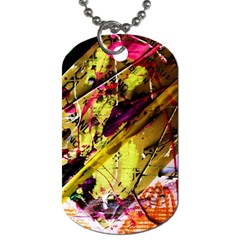 Absurd Theater In And Out 12 Dog Tag (two Sides) by bestdesignintheworld