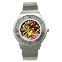Absurd Theater In And Out 12 Stainless Steel Watch by bestdesignintheworld