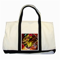 Absurd Theater In And Out 12 Two Tone Tote Bag by bestdesignintheworld