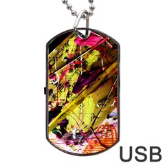 Absurd Theater In And Out 12 Dog Tag Usb Flash (two Sides) by bestdesignintheworld