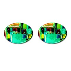 Marakesh 9 Cufflinks (oval) by bestdesignintheworld