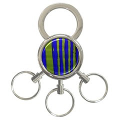 Stripes 4 3 Ring Key Chains by bestdesignintheworld