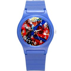 Mixed Feelings 9 Round Plastic Sport Watch (s) by bestdesignintheworld