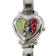 Point Of View 9 Heart Italian Charm Watch by bestdesignintheworld
