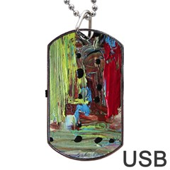 Point Of View 9 Dog Tag Usb Flash (one Side) by bestdesignintheworld