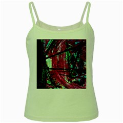 Sacred Knowledge 9 Green Spaghetti Tank by bestdesignintheworld
