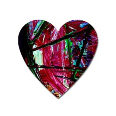 Sacred Knowledge 9 Heart Magnet by bestdesignintheworld