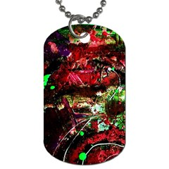 Bloody Coffee 2 Dog Tag (two Sides)