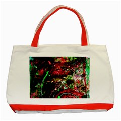 Bloody Coffee 2 Classic Tote Bag (red) by bestdesignintheworld